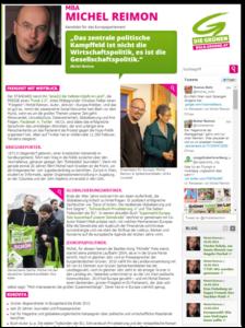 EU-Parlamentarier Michel Reimon, Portrait | Text Lina Bibaric