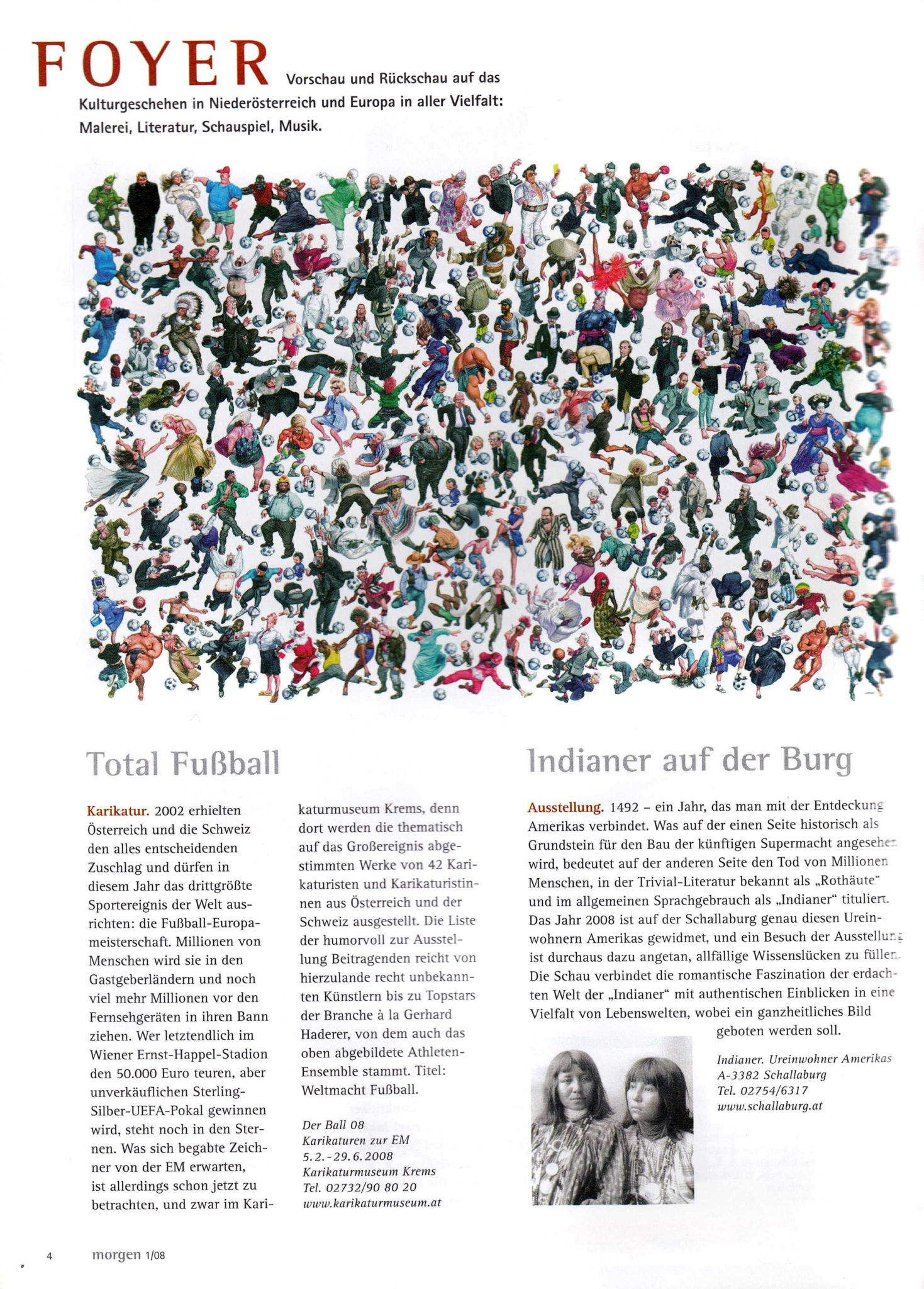 Kulturartikel der Redakteurin Lina Bibaric