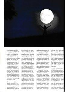 Artikel über die Sagen aus Niederösterreich der Redakteurin Lina Bibaric