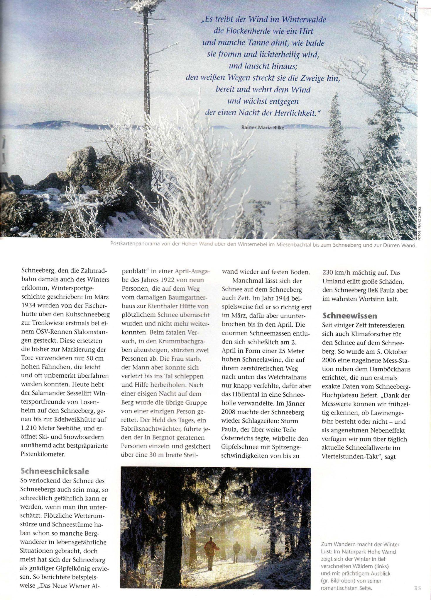 Die Ethymologie des Schnees | Idee, Konzept, Recherche, Bildredaktion, Text
