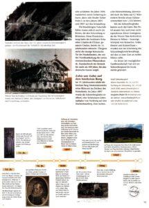 Geographie-Artikel über die Entstehung der Alpen. Text, Konzept, Redaktion von Lina Bibaric