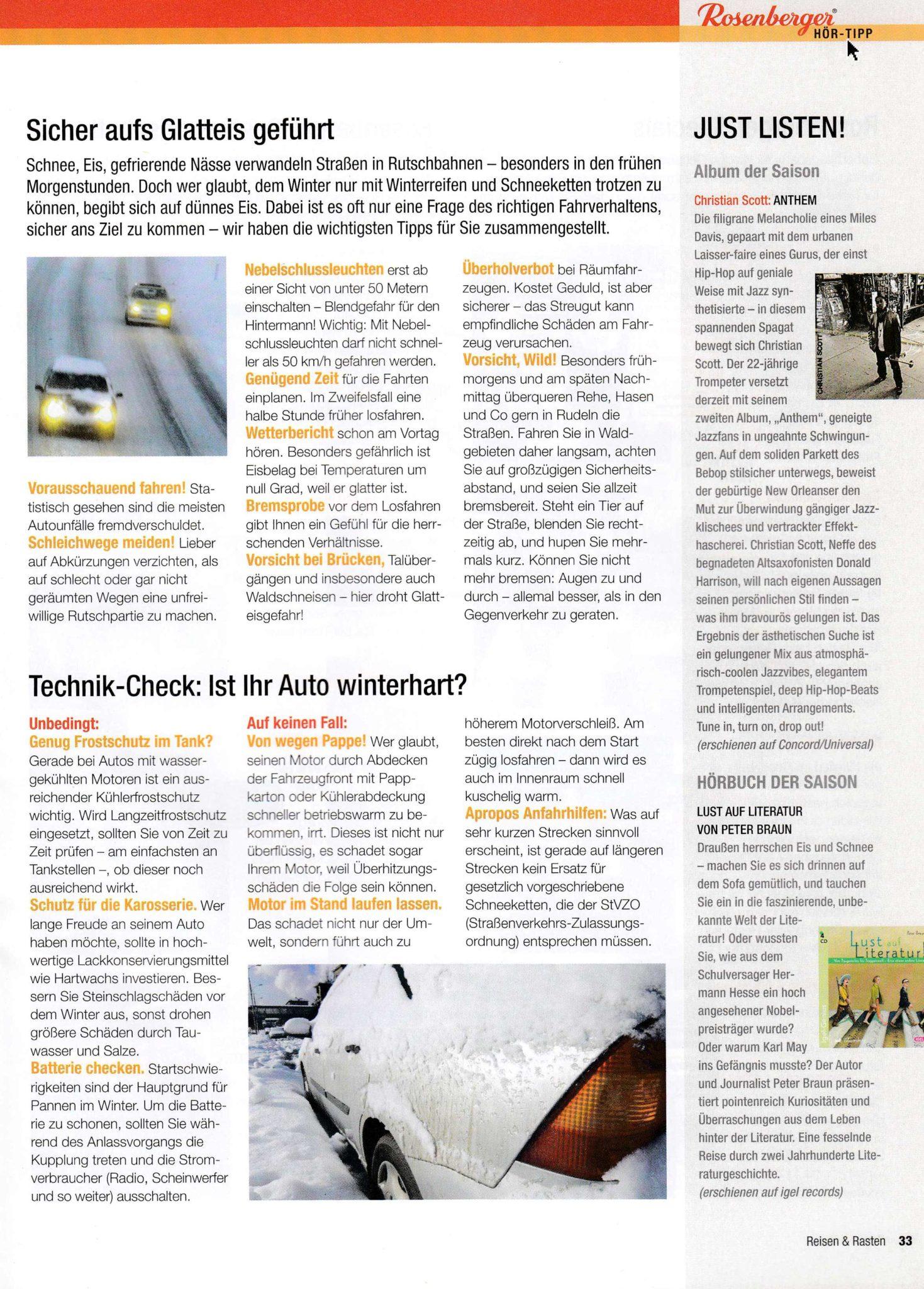 Rosenberger | Autofahrer-Tipps | Lina Bibaric