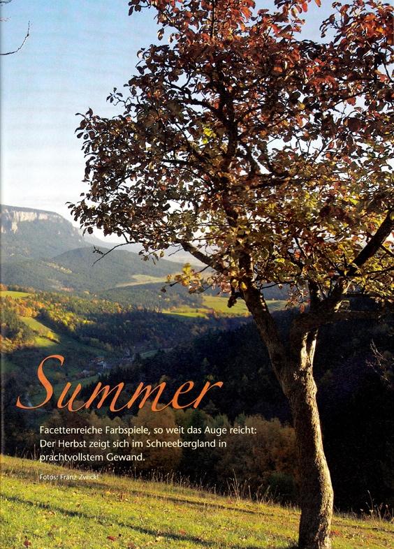 Schneebergland-Magazin, Foto-Story | Idee, Konzept, Text, Redaktion Lina Bibaric, Redakteurin