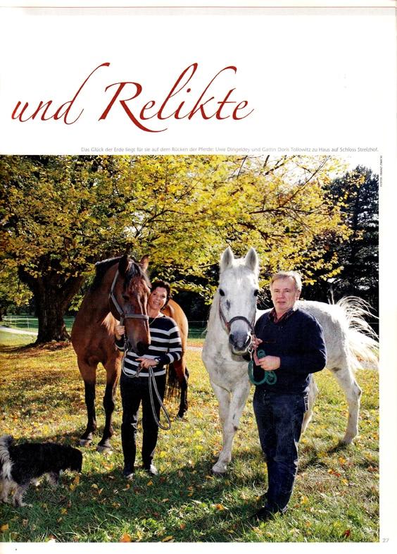 Reportage Schloss Strelzhof | Idee, Konzept, Text, Redaktion Lina Bibaric, Redakteurin