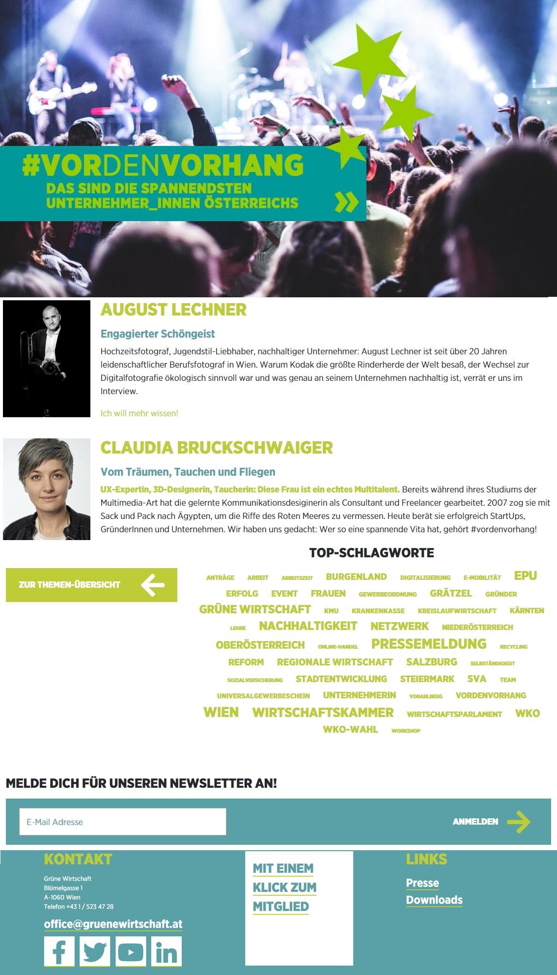 Formatentwicklung Grüne Wirtschaft | Lina Bibaric
