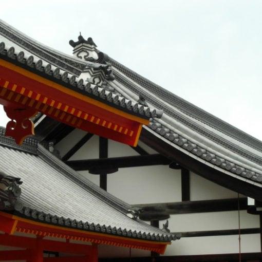 Shinto Tempel Kyoto, Foto von Lina Bibaric