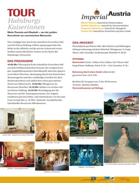 Festschloss Hof | Advertorial | Text: Lina Bibaric