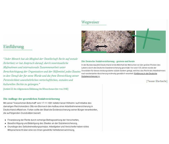 Text | Relaunch www.sozialversicherung.de