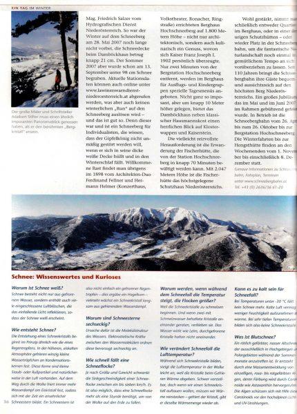 Die Ethymologie des Schnees   Idee, Konzept, Recherche, Bildredaktion, Text