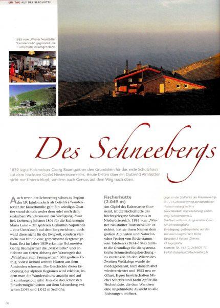Idee, Konzept, Recherche, Bildredaktion | Tourismus-Region Wiener Alpen