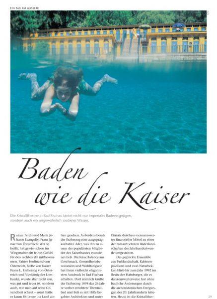 Kaisertherme, Artikel | Text Lina Bibaric, Redakteurin